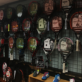 A Bunch of Racquets